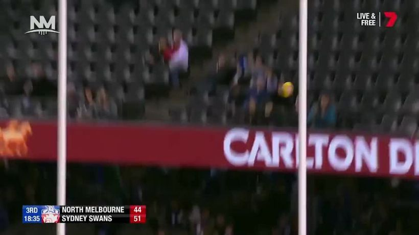 Majak Daw kicks four goals in round 17