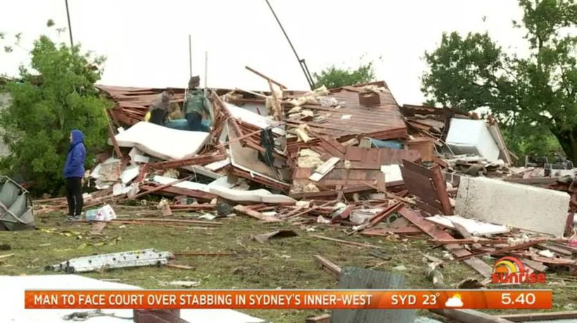Massive clean-up underway after Tornadoes cause widespread damage