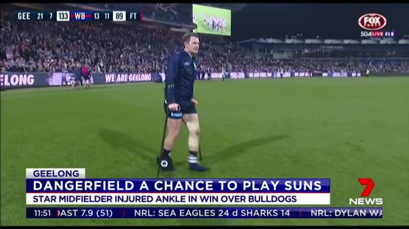 Dangerfield a chance to play Suns