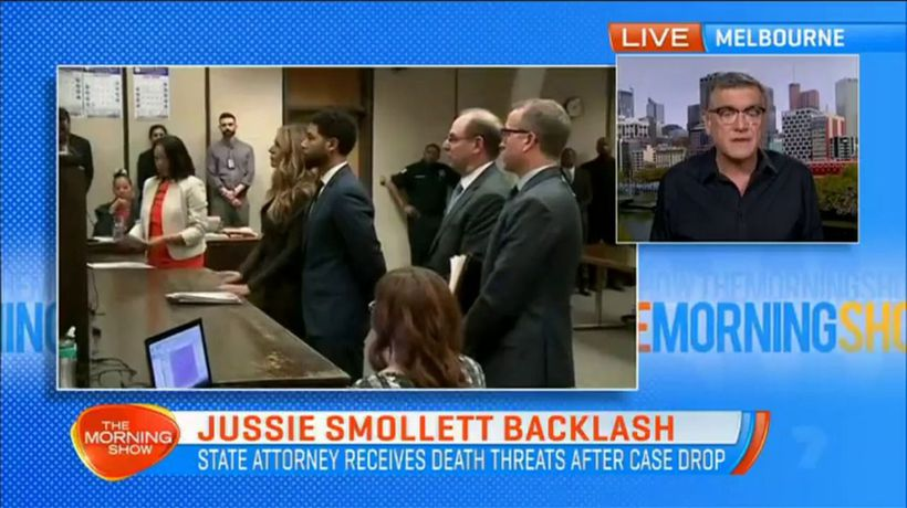 State attorney receives threats after Jussie Smollett charges dropped