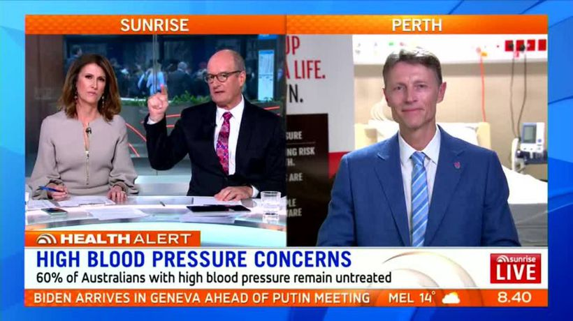 Most Aussies don't treat high blood pressure