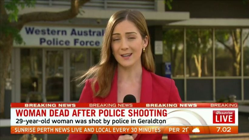 Woman dies in Geraldton police shooting