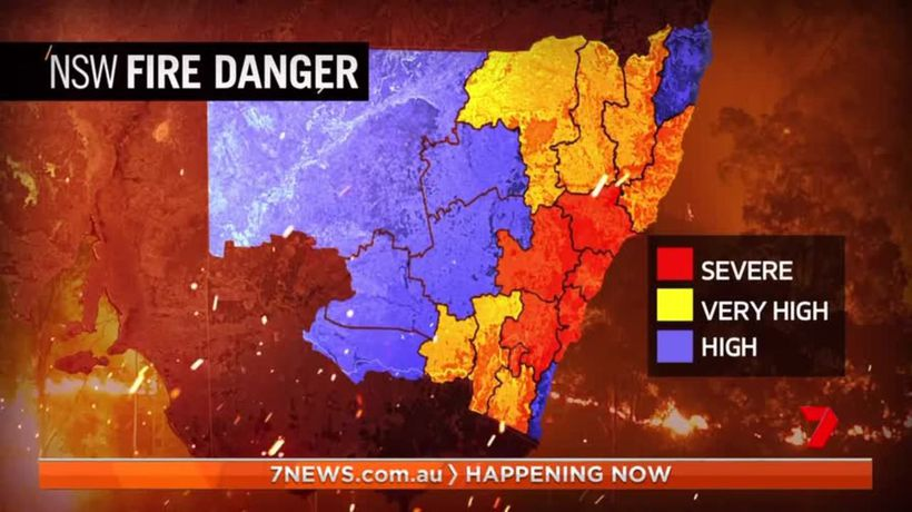 Australia's east coast battered by weather extremes