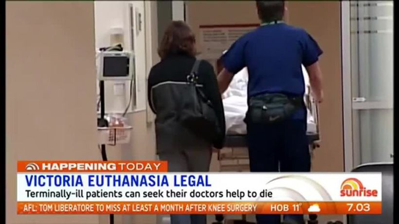 Voluntary euthanasia now legal in Victoria