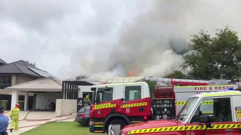 Floreat house fire