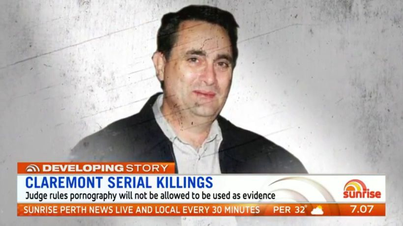 Claremont serial killings: Pornography evidence not allowed at trial