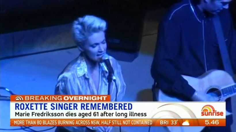 Roxette singer remembered