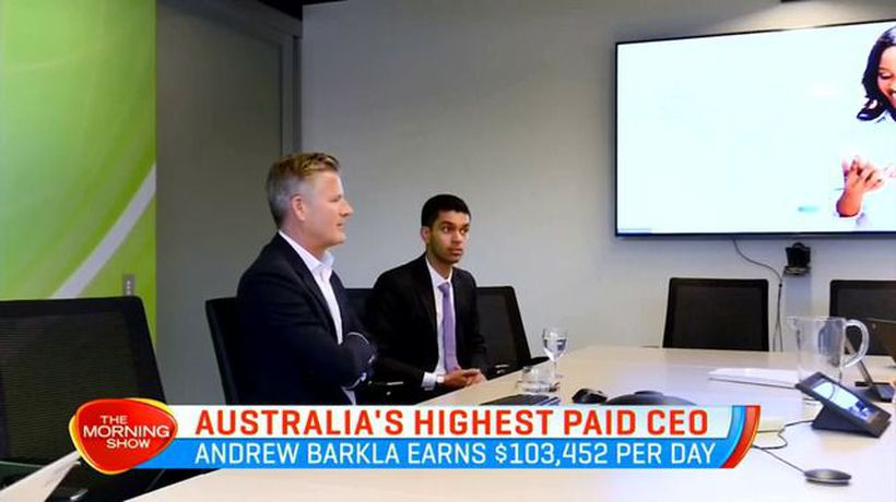 Australia's highest paid CEO took home $38 million