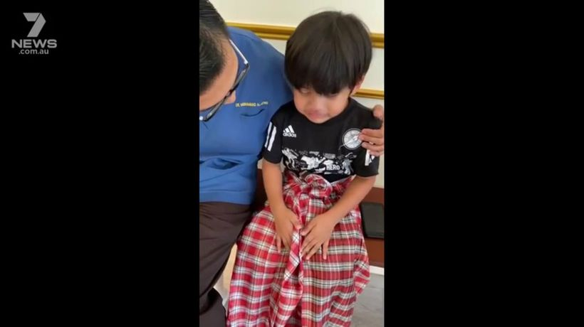 """Boy pleads for foreskin to be """"glued back on"""" after being circumcised"""