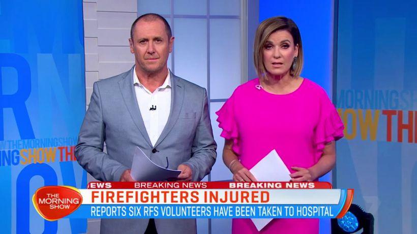 Six RFS firefighters injured