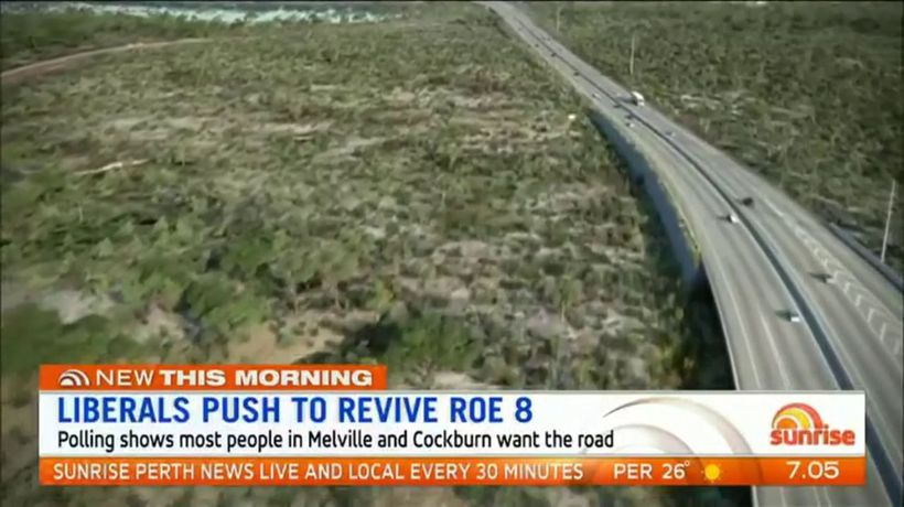 New plea for Roe 8 extension