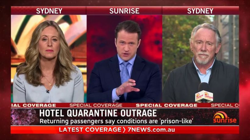 Hotel hell: complaints over quarantine