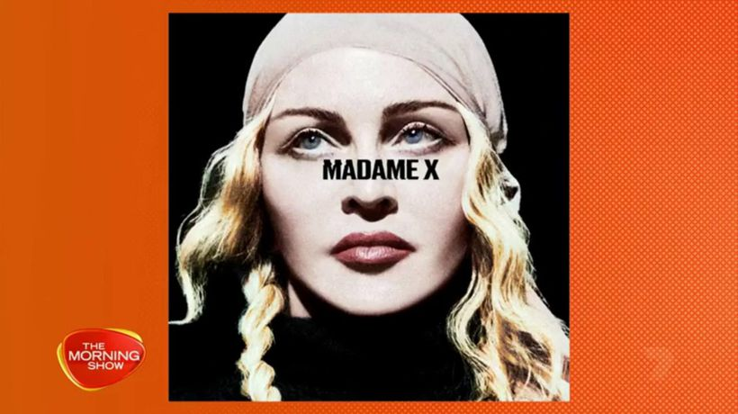 Madonna's new album goes to number one