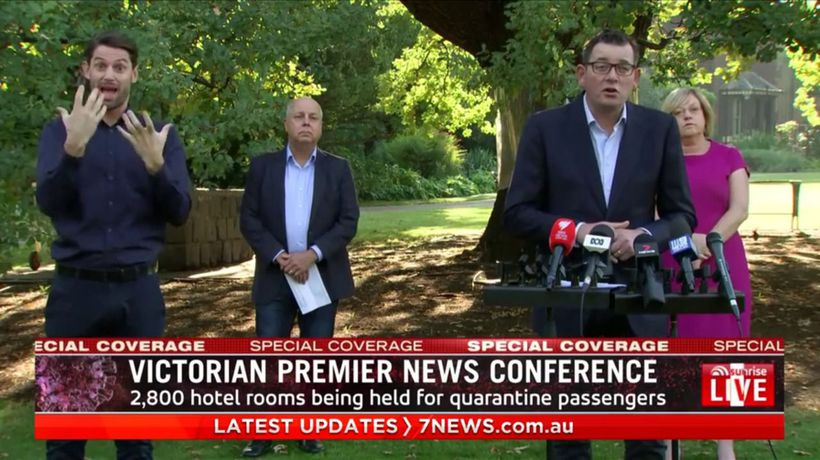 VIC premier on new coronavirus measures
