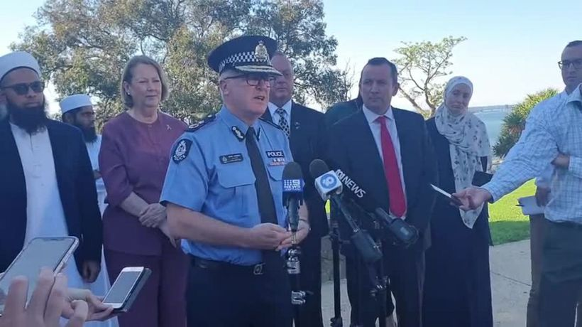 Police commissioner offers safety and support to WA's Islamic community