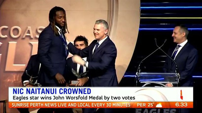 Nic Nat claims first B&F