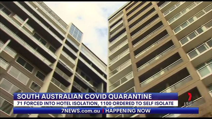 71 people forced into quarantine in Adelaide