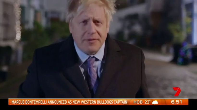 British PM takes on 'Love Actually'