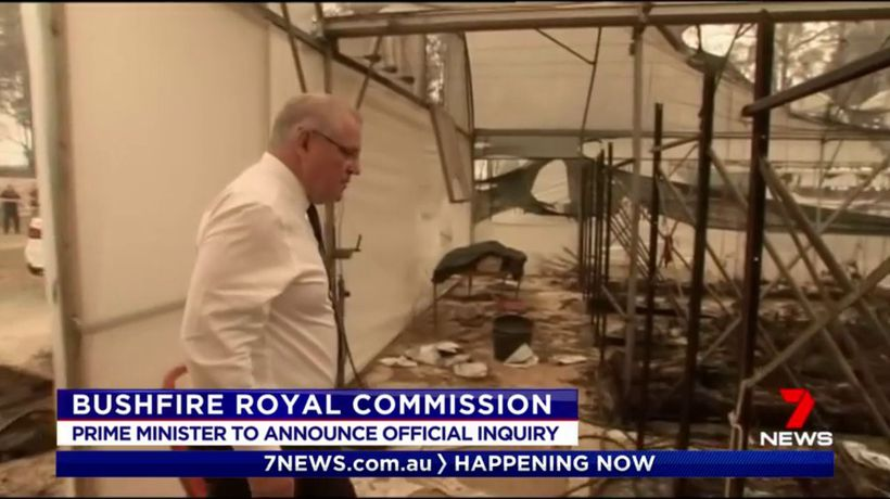 Bushfire royal commission