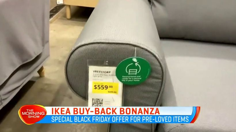 Ikea's buy-back bonanza