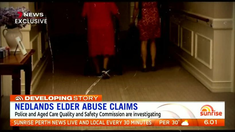 Shocking claims of elder abuse in Regis Aged Care home