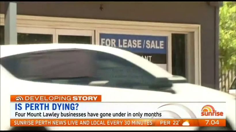 Another Mt Lawley business bights the dust