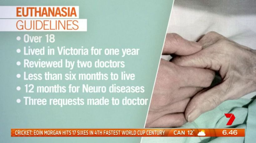 Victoria's euthanasia laws safest and most conservative in the world: Premier