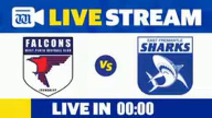 WAFL colts football Sharks v Falcons
