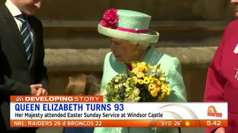 Royal family marks Queen's birthday