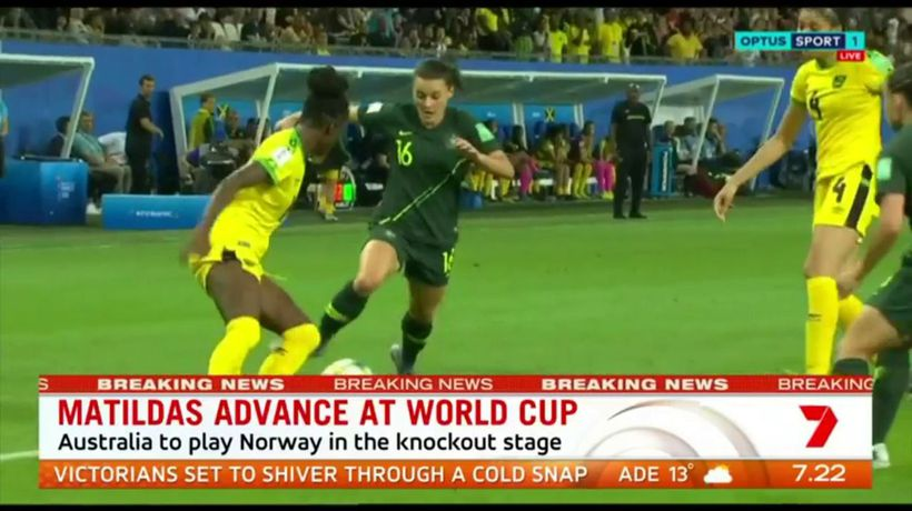 Australia has good chance to proceed into World Cup semis
