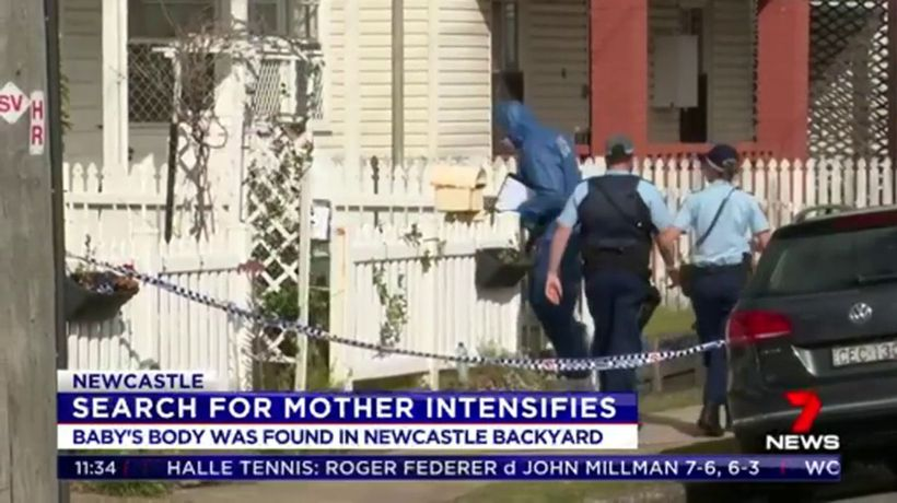 Police intensify search for mother of dead newborn baby