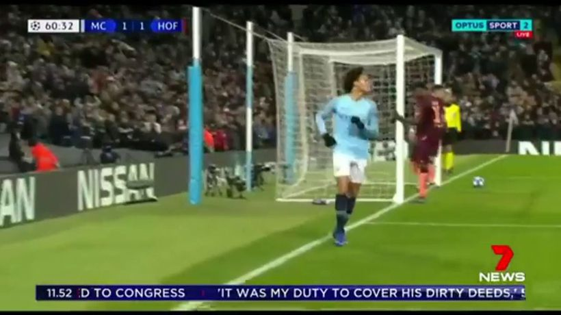 Manchester City into knockout stage of Champions League