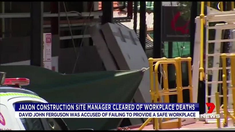 Former site manager cleared over workplace deaths