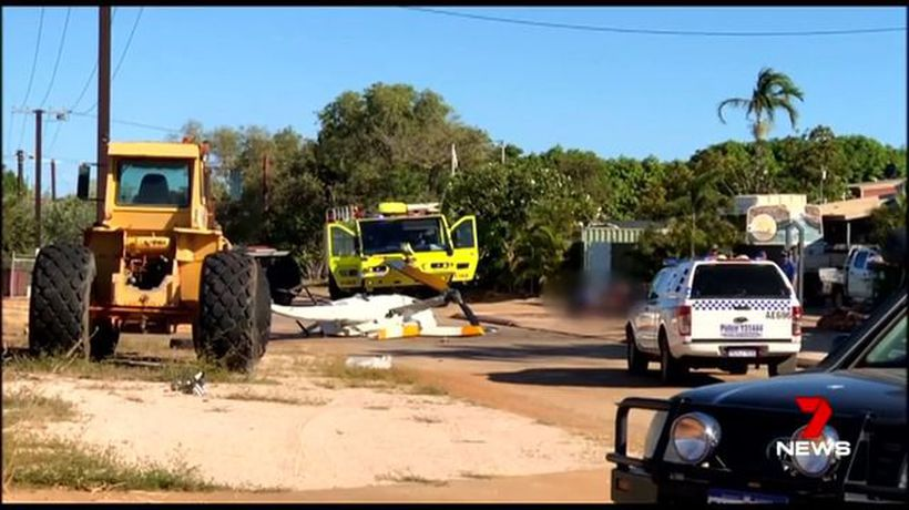 Broome helicopter crash