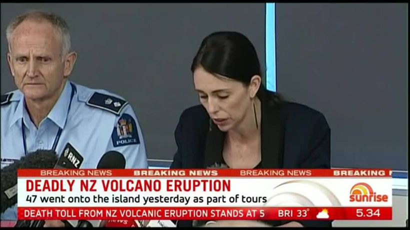 Australians among the dead in New Zealand volcano tragedy