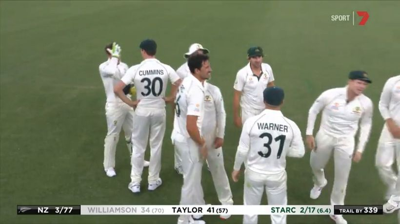 Smith takes screamer to dismiss NZ captain