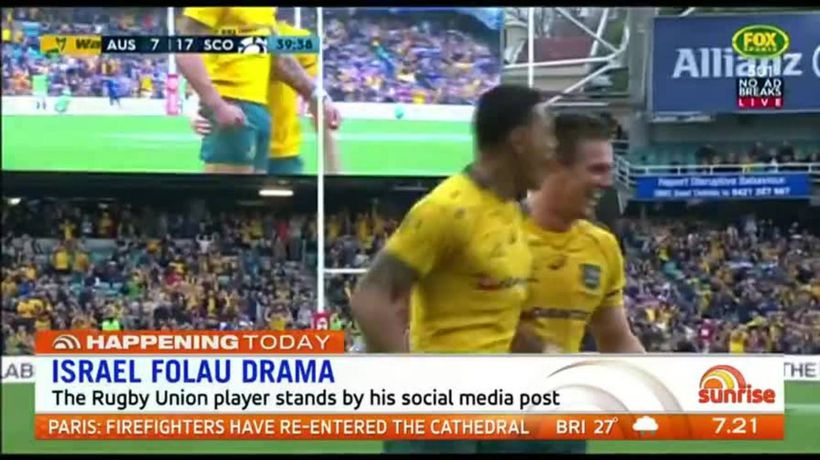 Israel Folau doesn't deserve to be sacked: Alan Jones