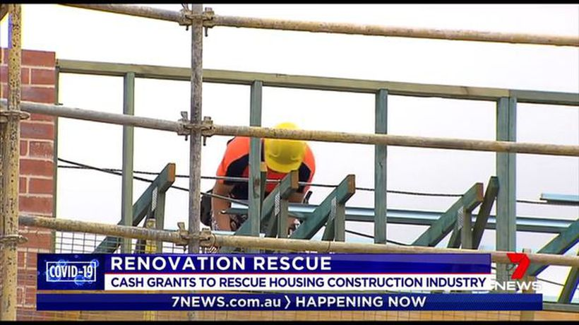 Government considering cash grant scheme to help tradies