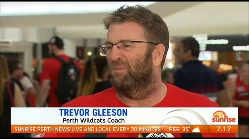 Perth Wildcats back home
