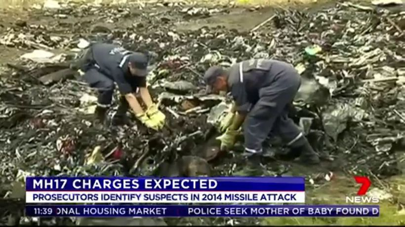 Charges to be laid of MH17 shooting