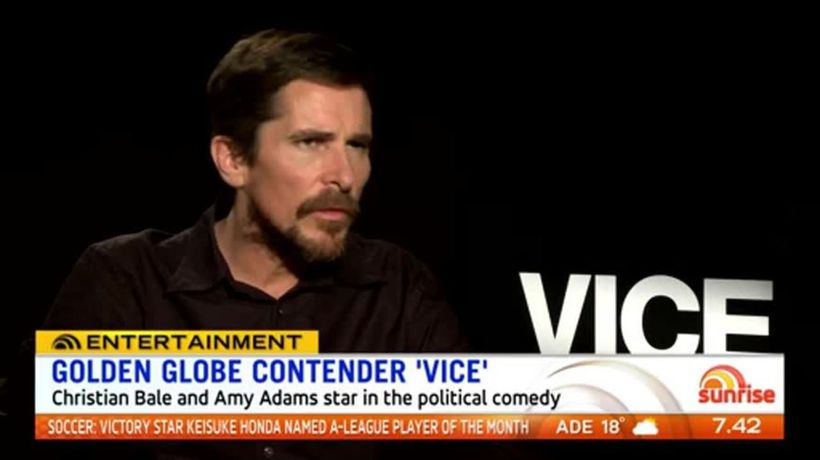 Christian Bale unrecognisable in political comedy 'Vice'