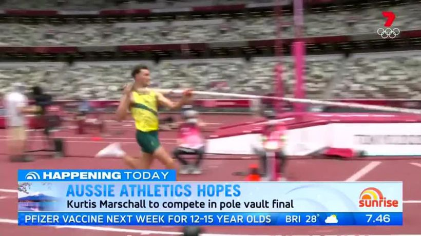 Kurtis Marschall on quest for Olympic medal