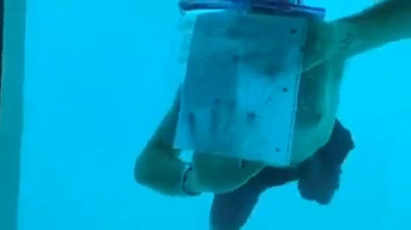 Man dies after underwater proposal