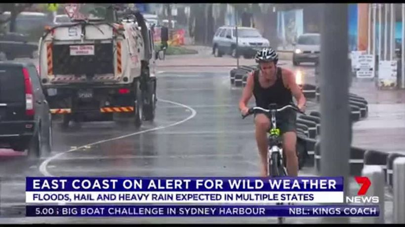 East Coast on alert for wild weather