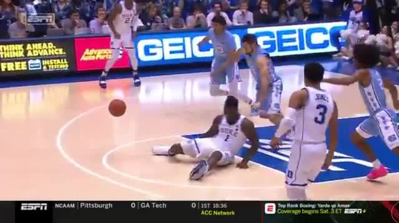 Likely No.1 NBA draft pick's bizarre shoe blow-out injury