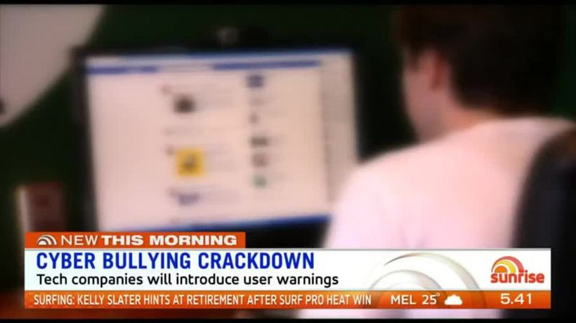Tech companies cracking down on cyber bullying