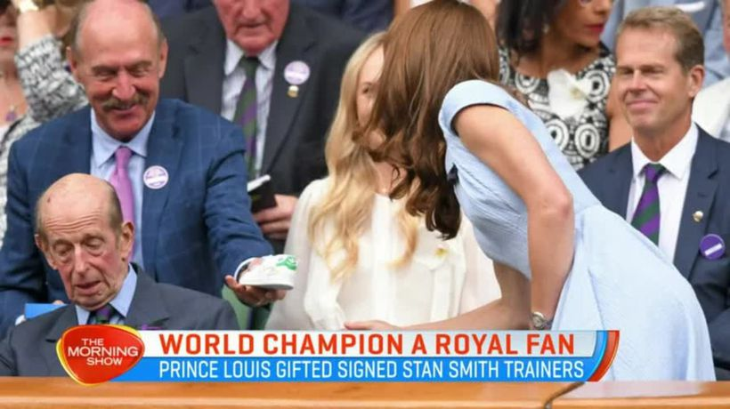 Stan Smith's special gift for Prince Louis