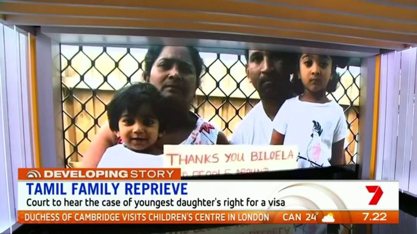 Reprieve for Tamil family