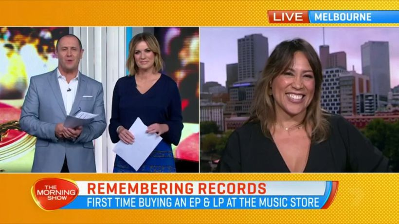 Kate Ceberano joins The Morning Show