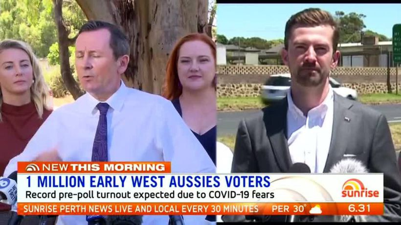 Record pre-polling expected for WA State election